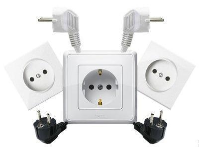 Услуги квалифицированного электрика.  Замена кабелей, розеток, выключателей, автоматов, счетчиков.