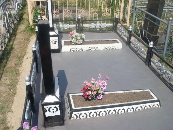 как обустроить могилу на кладбище фото