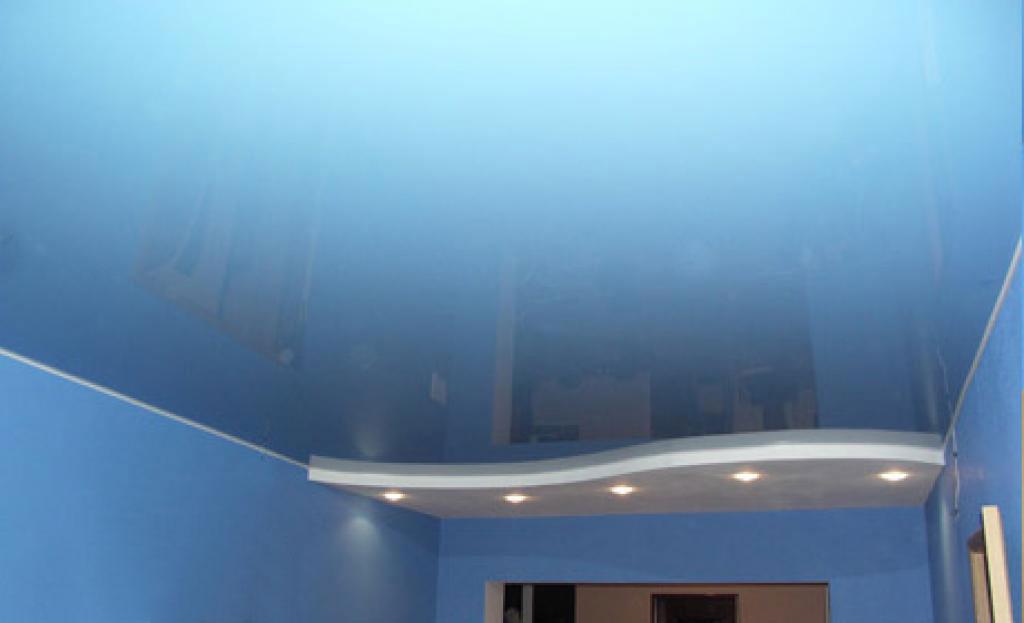 натяжные потолки фото квартира хрущевка